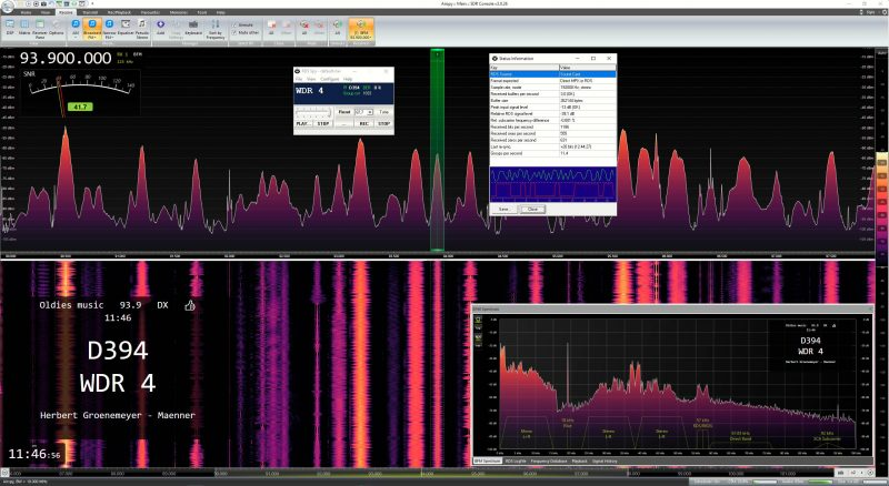 RDSSpy and SDR Console