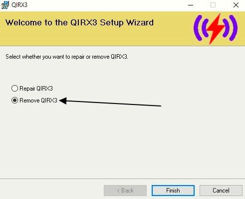 Remove QIRX